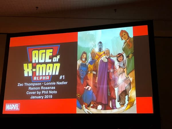 Nate Grey Confirmed at NYCC for January's Age of X-Man