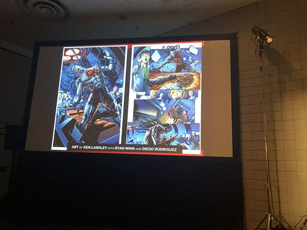 Valiant Announces Their Glass Cover Variant for Bloodshot Rising Spirit #1