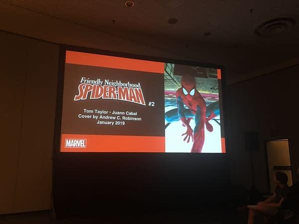 Tom Taylor, Juann Cabal Revive Friendly Neighborhood Spider-Man for Marvel