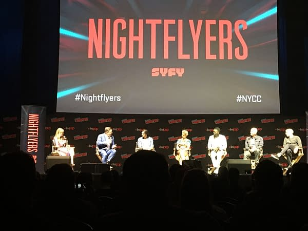 George R.R. Martin's Nightflyers Premiere Screened at NYCC, Check Out the Trailer