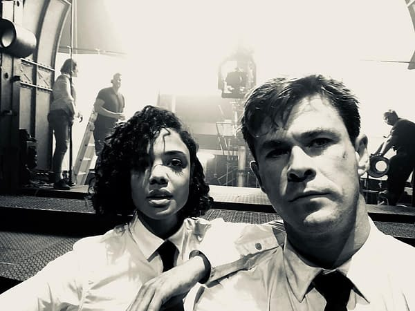 Chris Hemsworth has Wrapped Filming on 'Men In Black'