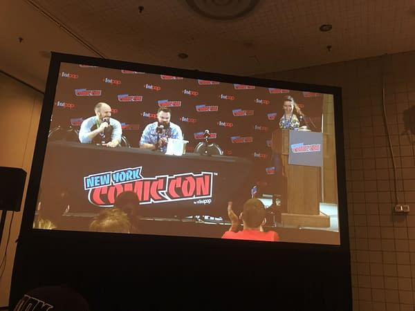Tom King Talks Heroes in Crisis, Punching Russians at NYCC Spotlight Panel