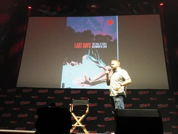 Robert Kirkman on The Walking Dead, Outcast, and Invincible Series at NYCC