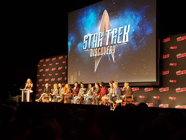 Star Trek Discovery Panel: A New Trailer, Hairy Klingons, and revisiting The Cage?