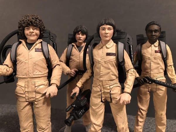 McFarlane Toys Stranger Things Ghostbusters Set 13
