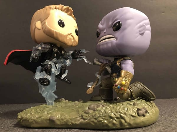 Funko Marvel Infinity War Thor Thanos Movie Moment 5