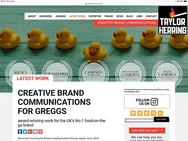 Piers Morgan and Greggs Use the Same PR Agency…. You Don't Suppose…?
