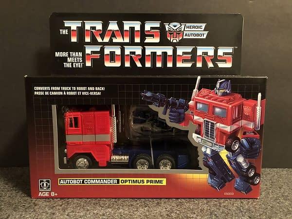 Transformers G! Reissue Walmart Optimus Prime 13