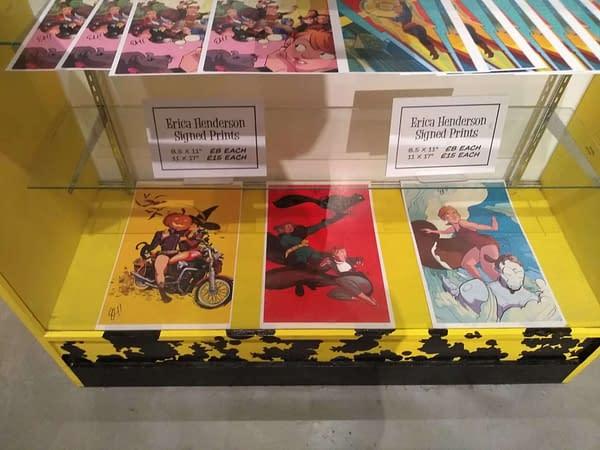 A Look at Erica Henderson's Gallery of Original Art at Orbital Comics, London