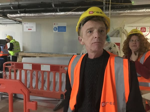 Building a New Cartoon Museum Beneath the Streets of London's West End