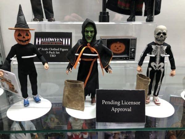 Toy Fair Halloween 3 NECA Figures