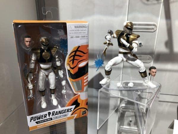 Toy Fair Power Rangers Lightning Collection White Ranger
