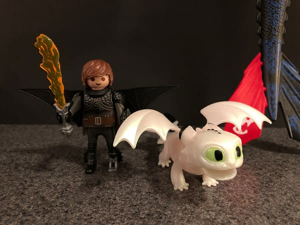 Let's Take at Playmobil's Newest Version of Toothless From How to Train Your Dragon