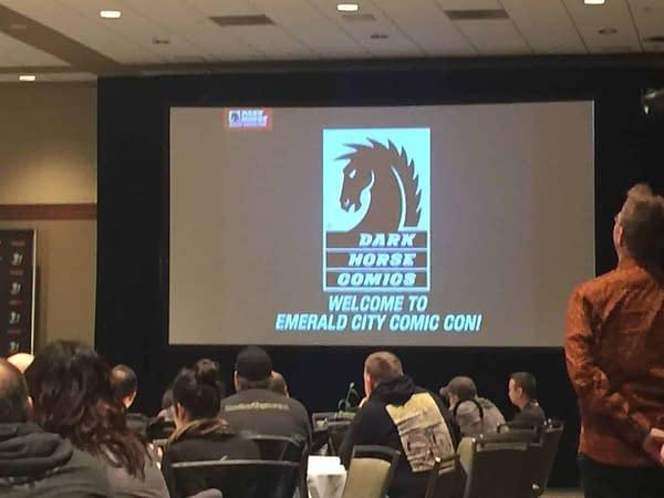 Dark Horse Tells All at ECCC Retailer Breakfast- Umbrella Academy, Minecraft, and More