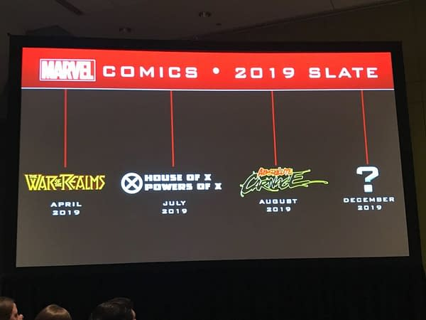 Marvel Teases Another Event for December to Pay Off All the Earlier 2019 Events