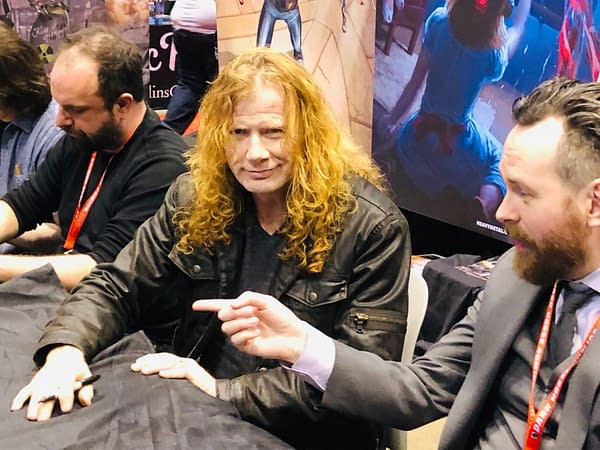 Megadeth's Dave Mustaine Gets the Crowds for Heavy Metal at C2E2