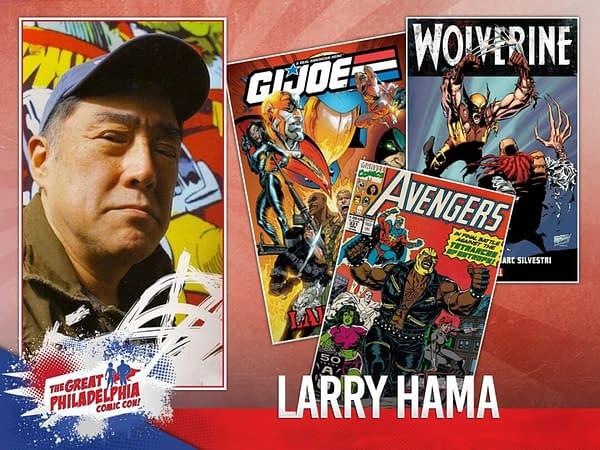 Larry Hama Denied Guest Priveleges at Philadelphia Comic Con
