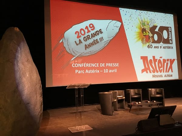 The New Asterix Comic For 2019 Is....