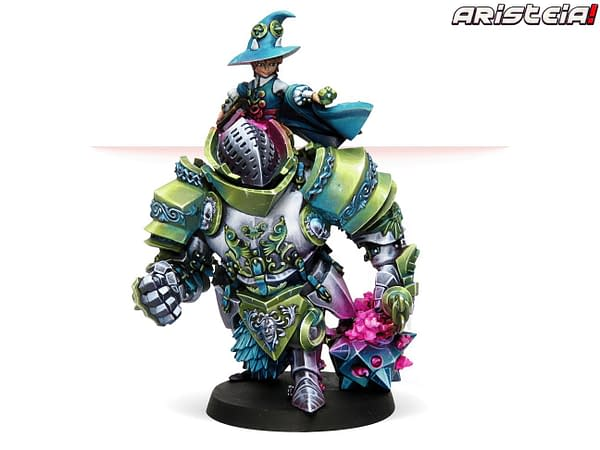 Corvus Belli May Releases: Tohaa, Patsy, and a BIG Golem