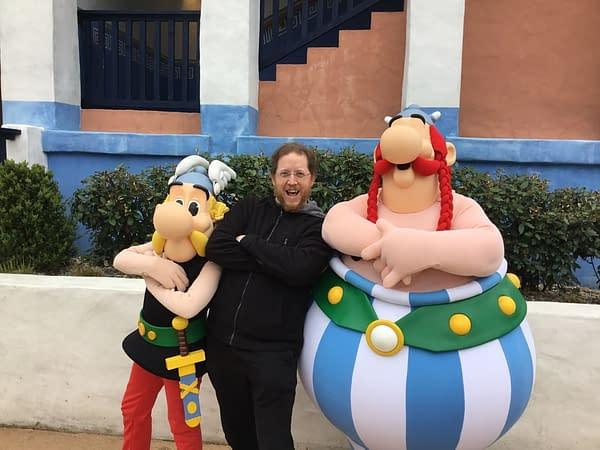 Walking Around Parc Asterix