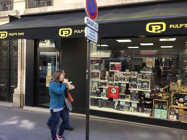 Walking Down Rue Dante, The Geekiest Street in Paris