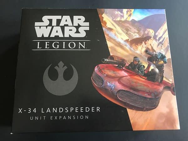 Looking Under the Hood of Fantasy Flight's X-34 Landspeeder for 'Star Wars: Legion'