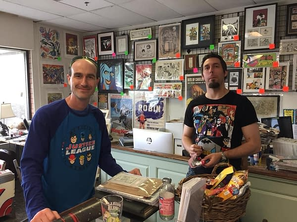 Basement Comics Opens Mini-Store in Edgewood, Maryland