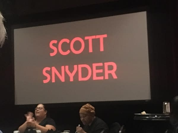 Scott Snyder and Greg Capullo Creating Spawn #300 With Todd McFarlane