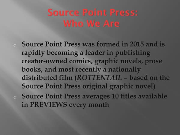 Dirk Manning's Source Point Press