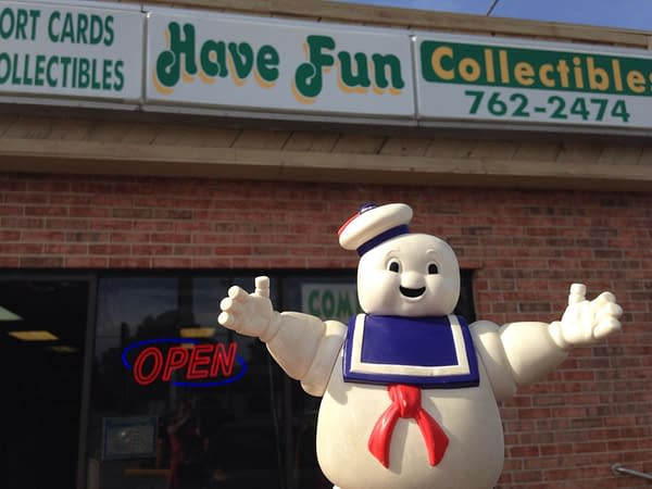 Have Fun Collectibles of Moline, Illinois is Not Having Fun as They Close Shop