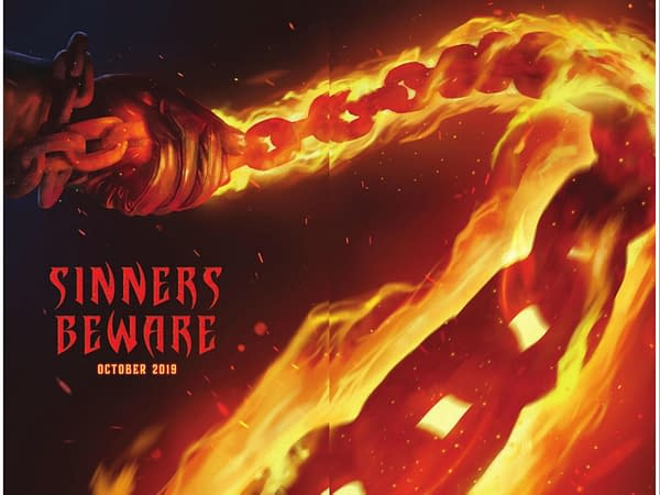 Sinners Beware… Marvel Comics Launches New Johnny Blaze: Ghost Rider Comic in October