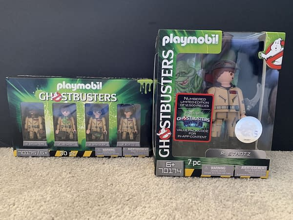 Giveaway: Playmobil Ghostbusters Figure Four Pack and Collectors Edition Figure!