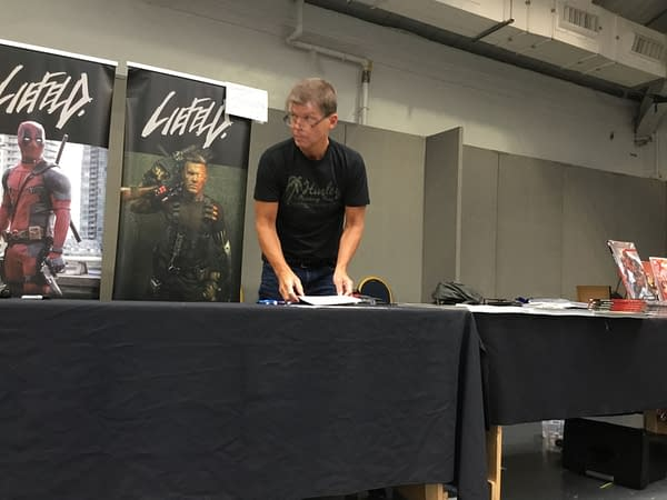Rob Liefeld, Battling Through The Bugs at London Film And Comic Con