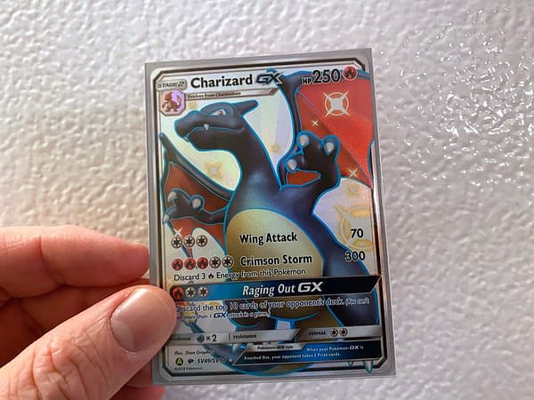 Hidden Fates Shiny Charizard GX. Credit: Pokémon TCG