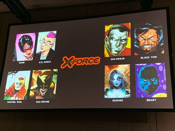 Benjamin Percy and Joshua Cassara Bring X-Force to the Dawn of X