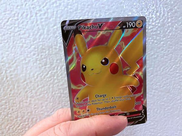 Vivid Voltage Pikachu. Credit: Pokémon TCG