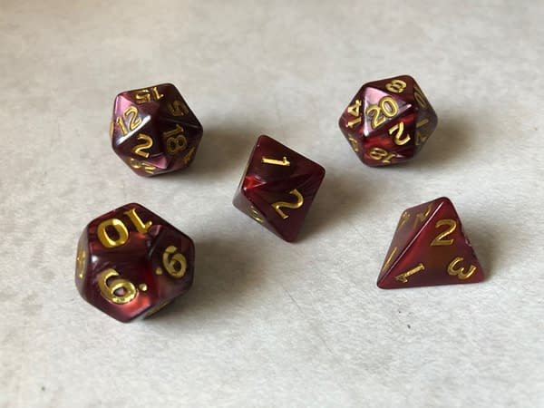 """Review: """"Dungeons & Dragons"""" Descent Into Avernus Dice"""