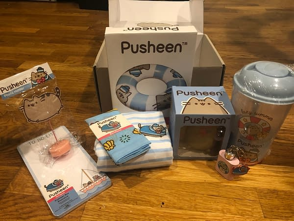The Pusheen Subscription Box is a Cornucopia of Cat Products