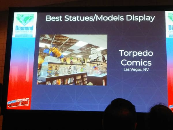 Diamond Announces Best Practice Awards for Autumn 2019 at NYCC