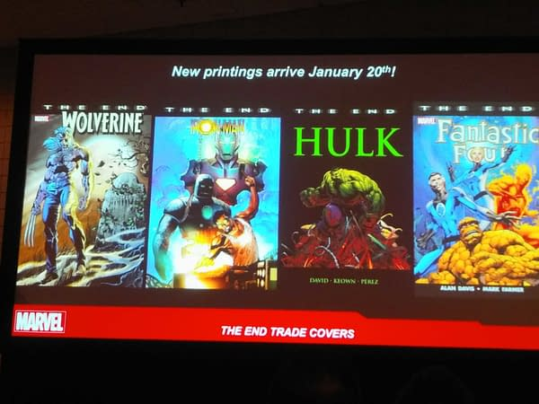 6 Marvel The End One-Shots Coming in January