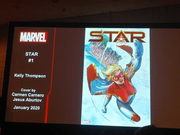 Spinning Out Of Captain Marvel, Star Gets Her Own Series