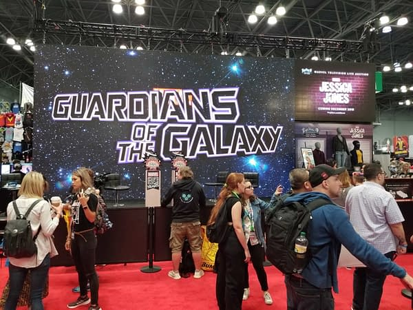 Your First Look at the Marvel Comics Booth From New York Comic Con 2019 #NYCC