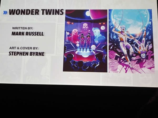 Even More Dial H for Hero and Wonder Twins to Come - and a Crossover With Young Justice