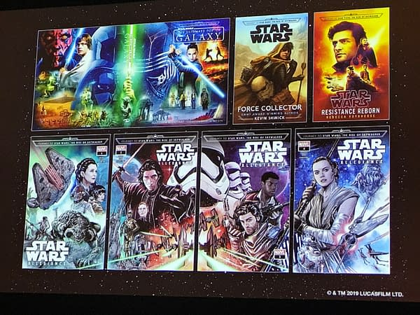 Publishing a Galaxy Far Far Away