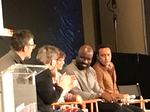 """Don't Expect Politics in CBS' """"Evil"""" - The NYCC Panel"""