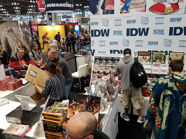 First Look at IDW's New York Comic Con Booth #NYCC