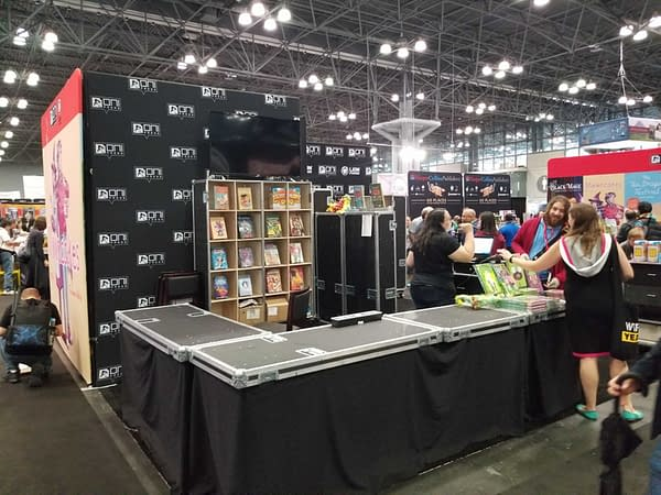 First Look at the Booths for Valiant, Titan, Oni/Lion Forge, Zenescope at New York Comic Con #NYCC