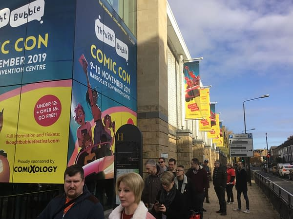 Saturday Night, Sunday Morning at Thought Bubble Harrogate 2019 – in Video