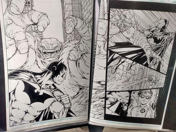 Shane Davis Warns Comic Art Dealers Not to Buy His Stolen Portfolio