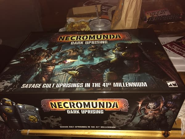 "Review: Games Workshop's ""Necromunda: Dark Uprising"""